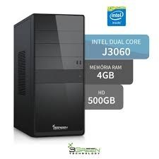 8735 - Computador 3Green Intel Dual Core J3060 4GB 500GB HD HDMI USB 3.0 9061