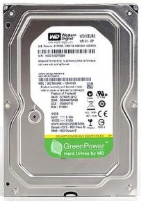 "8688 - HD Western Digital 3,5"" 1TB Sata III 6GB/s 7200RPM 64MB WD10EURX"