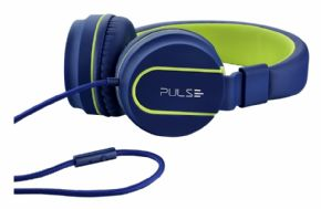 8794 - Headphone Pulse Multilaser Azul/Verde - PH162