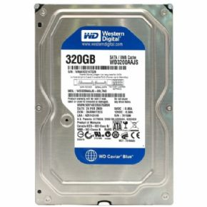 "6243 - HD Western Digital 3.5"" 320GB Sata II 3.0 GB/s 7200 RPM 8 Cache WD3200AAJS. A VISTA NA LOJA 130,00"