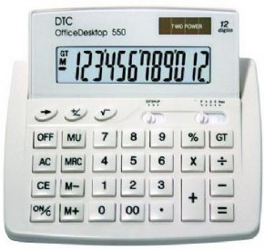 6904 - Calculadora DTC Office 550 Branca CD242