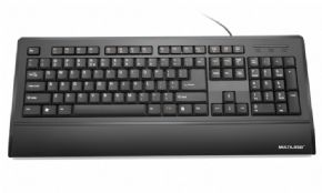 6178 - Teclado Super Multimídia Slim Multilaser TC128