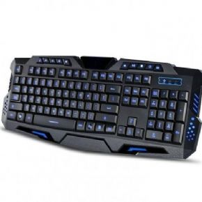 6297 A - Teclado Iluminado Multimídia - Exbom Action Gamer - Bk-G35