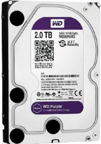 "7267 - HD Western Digital Purple 3,5"" 2TB Sata III 6.0Gb/s 7200RPM 64MB Cache WD20PURX"