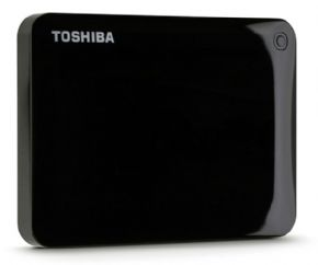7089 - HD Externo Portátil Toshiba 500GB Canvio Connect 5400RPM Black - HDTC805XK3A1