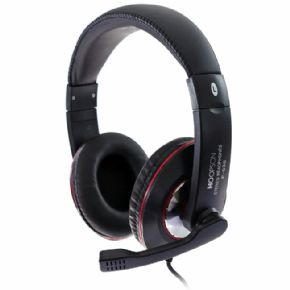 "10064 - HEADPHONE HOOPSON GAMER C/ MICROFONE PRETO F-036  - <b><font color=""#0db901""><font size=""4"">R$44,00 À VISTA</font></font></b>"