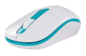 10071 - MOUSE SEM FIO HOOPSON BRANCO 1600DPI MS-011X