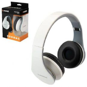 "10210 - HEADPHONE EVOLUT BLUETOOTH BRANCO EO-601   - <b><font color=""#0db901""><font size=""4"">R$74,00 À VISTA</font></font></b>"