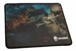 10216 - MOUSE PAD GAMER EVOLUT 250X210X2MM EG-401