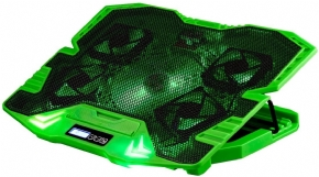 10460 - Suporte Gamer para Notebook com 5 Coolers e Led Verde Multilaser AC292