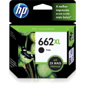 5012 - Cartucho de tinta HP 662XL Preto 6,5ml