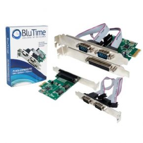 3223 - PLACA MULTISERIAL BLUTIME PCI EXPRESS 2 SERIAL 1 PARALELA BT-PC001