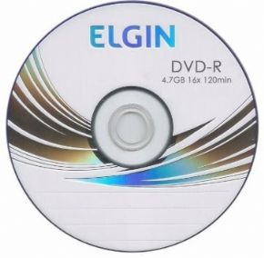 2977 - DVD-R ELGIN 4.7GB 16X