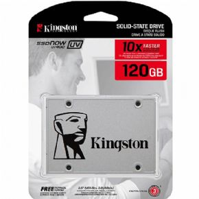 "5406 - SSD Kingston 2.5"" 120GB UV400 SATA III SUV400S37/120G"