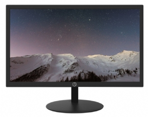 11778 - MONITOR LED 19'' BRAZIL PC BPC-M19W-HOE PRETO VESA WIDESCREEN BOX