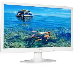 8758 - MONITOR LED PCTOP 15,6 SLIM BRANCO MLB156HDMI