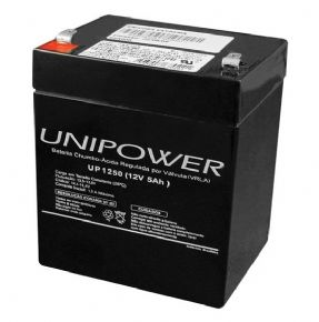 8777 - Bateria Selada Unipower 12V 5A UP1250
