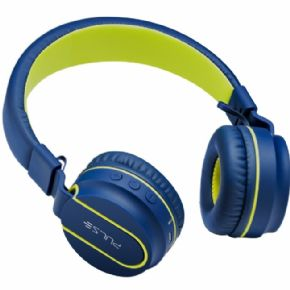 "8905 - Headphone Bluetooth Pulse Azul/Verde PH218  - <b><font color=""#0db901""><font size=""4"">R$161,00 À VISTA</font></font></b>"