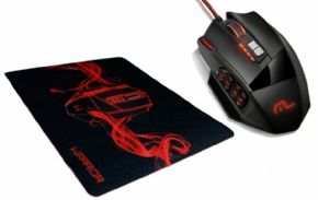 9082 - Mouse Gamer Multilaser Warrior + Mouse Pad MO206