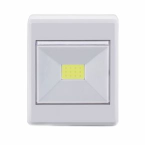 9236 - MINI LUMINARIA LED BOTAO 3W BRANCA COB 6500K