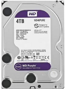 "9417 - HD Western Digital 3,5"" 4TB SATA III Purple Surveillance 64MB Cache WD40PURZ  - <b><font color=""#0db901""><font size=""4""></font></font></b>"