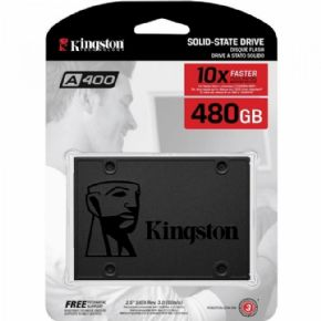 "9450 - SSD Kingston 2.5"" 480GB A400 SATA III SA400S37/480G"