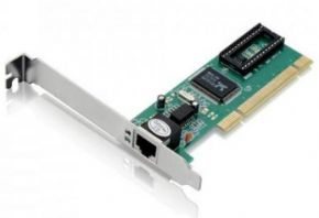 9893 - PLACA DE REDE 10/100 FEASSO + LOW PROFILE FRP -01