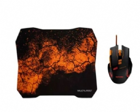 11104 - COMBO MOUSE E MOUSE PAD GAMER MULTILAS MO256