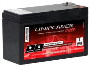 4310 - Bateria Selada Unipower 12V 7A UP1270SEG