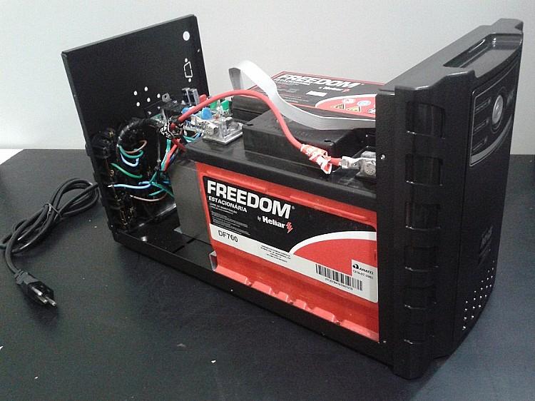 ... Nobreak NHS 600VA 1 Bateria 45Ah Premium PDV GII 600 E Entrada Bivolt  Saída 110v 2 ... ee084aae1f564