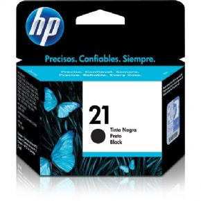 200 - Cartucho de tinta HP 21 Preto 7ml