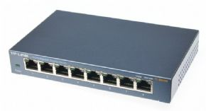 8574 - Switch 8 portas Gigabit 10/100/1000 TP-Link TL-SG108