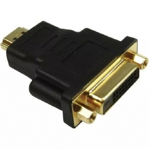Adaptador Dvi Femea X Hdmi Macho Gold Loud