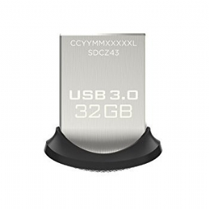 Pen Drive SanDisk USB 3.0 Ultra Fit 32GB SDCZ43-032G-GAM46 R$82,00 À VISTA