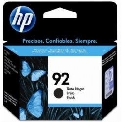 Cartucho de tinta HP 92 Preto 5,5ml R$94,00 À VISTA